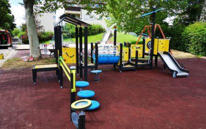 Des aires de jeux pour les enfants en situation de handicap